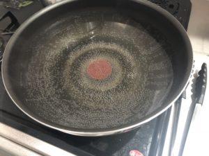 パスタのお湯を準備!