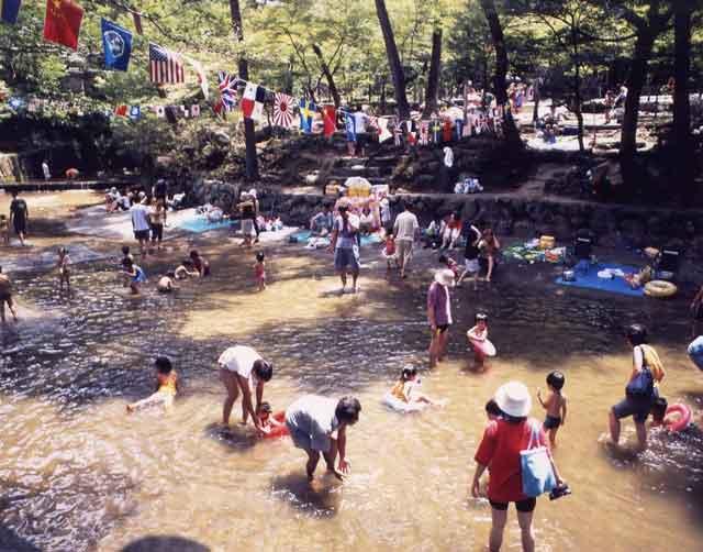 岩屋堂、夏は天然プール!99